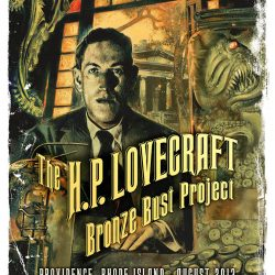 H P Lovecraft Bronze Bust project